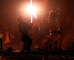 Obi Anakin duel