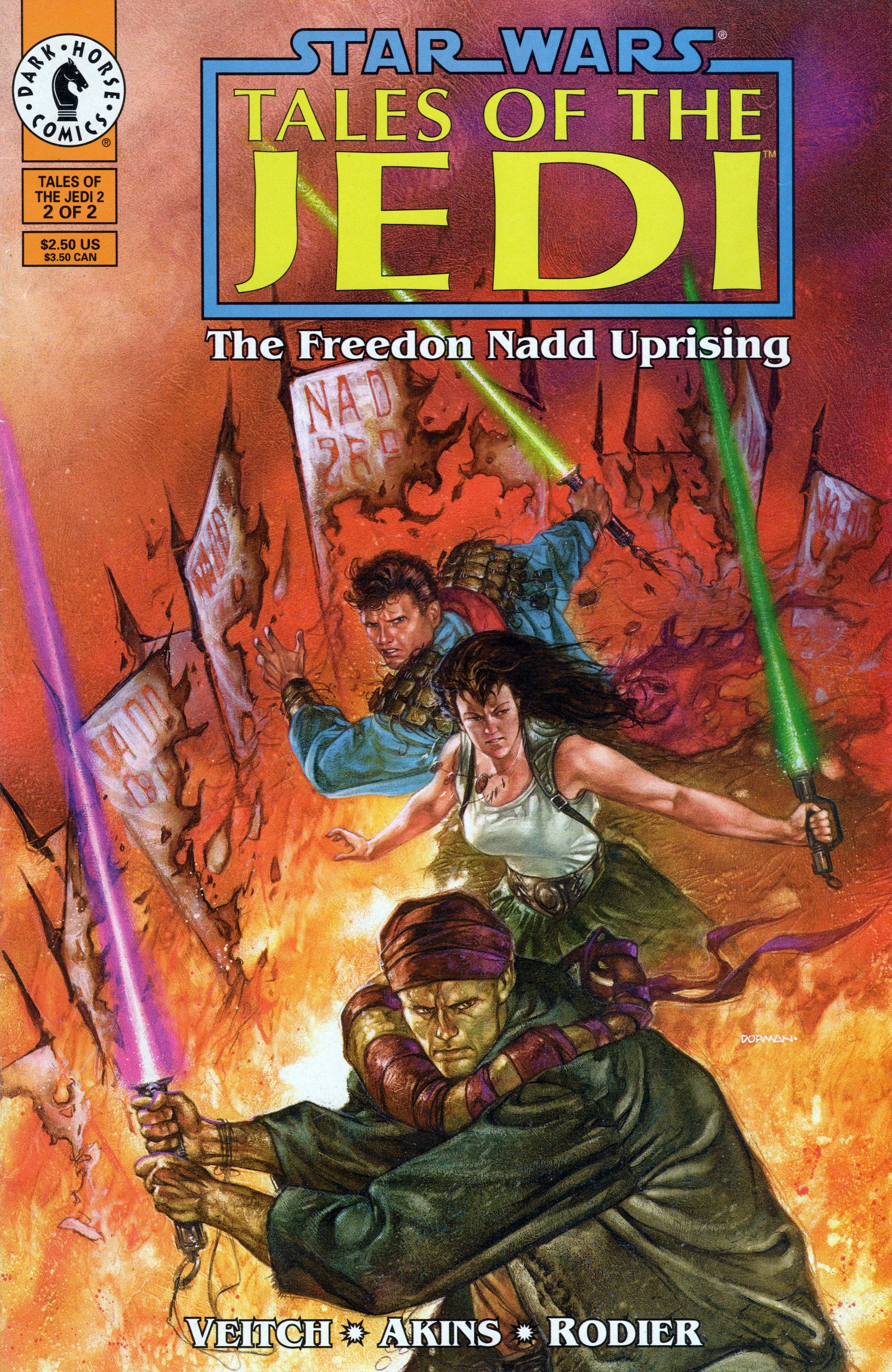Tales Of The Jedi The Freedon Nadd Uprising 2 Initiates Of The