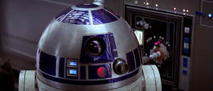 Artoo plugged in ANH