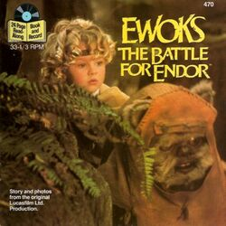 Ewoks - The Battle for Endor (book-and-record)