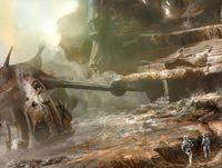 L'arena dopo la Battaglia di Geonosis