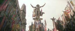 Maz statue