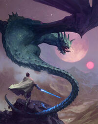 The Knight and the Dragon SWMaF