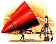 Thrust cone