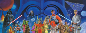 Vaders Quest cover mural