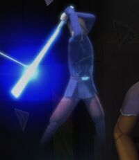 Anakin teaching Form IV