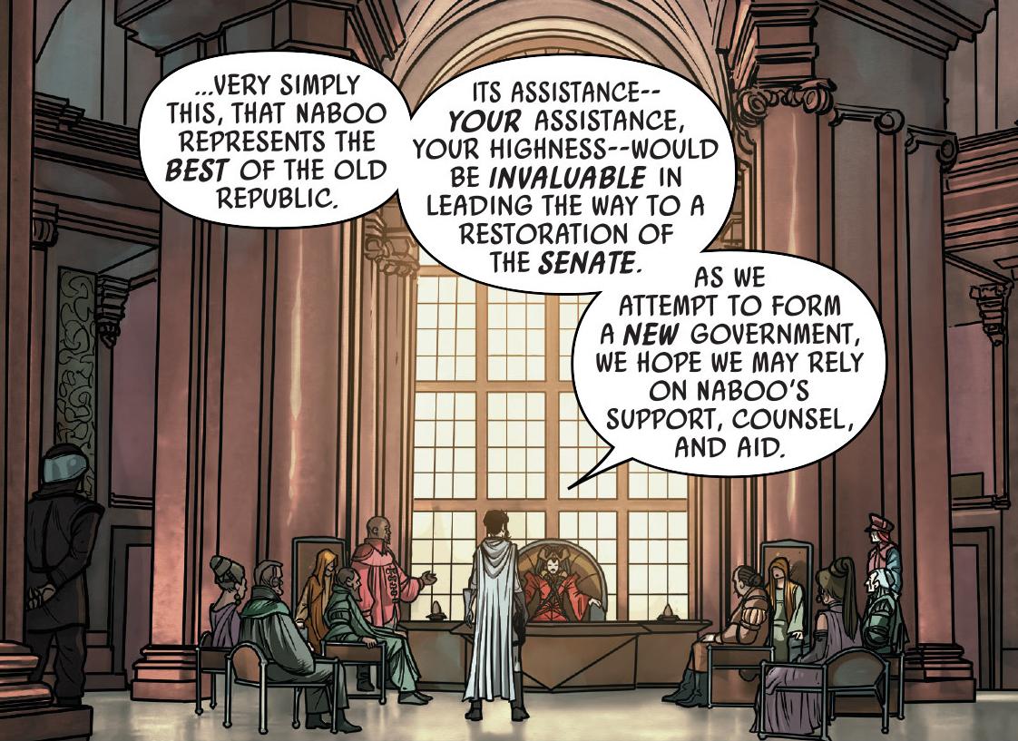 Image - Leia addresses Queen Soruna.png | Wookieepedia | FANDOM ...
