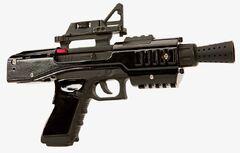 SE-44C blaster pistol black