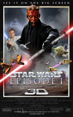 Episode I 3D poster