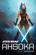 Ahsoka novel cover