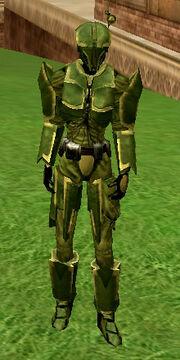 Bounty hunter armor