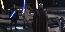 Skywalker Kenobi prepare ROTS