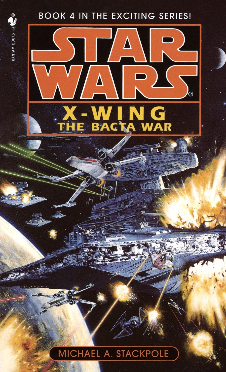 Star Wars X-Wing Series Book 3 the Krytos Trap
