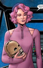 Amilyn Holdo droid