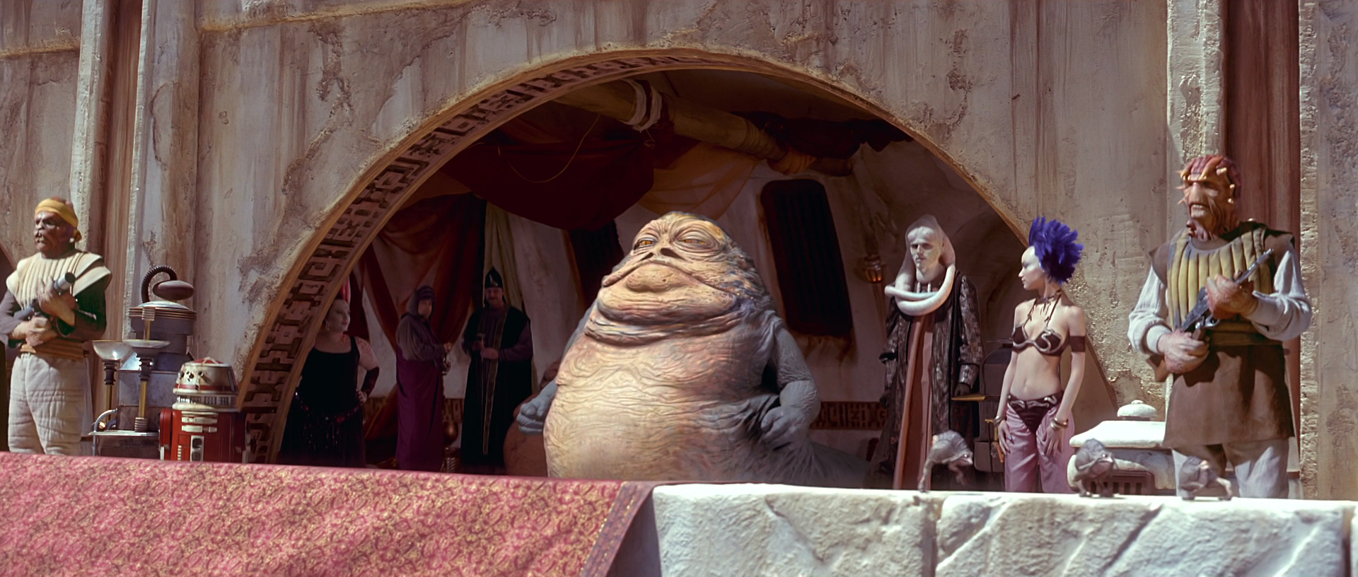 Image result for jabba the hutt phantom menace