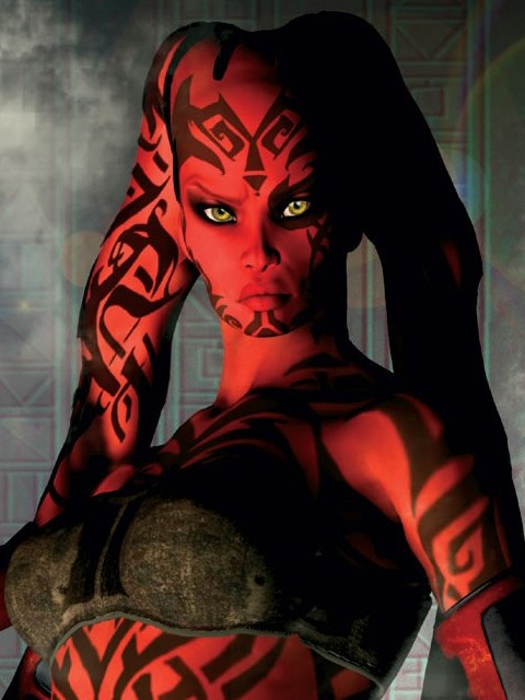 Darth talon nerdy girls nude