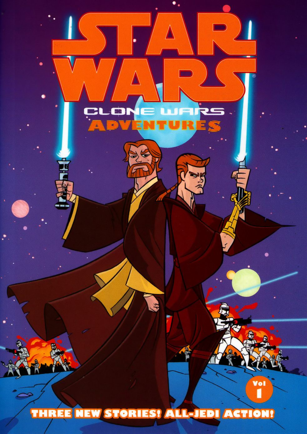 Star Wars Clone Wars Adventures Volume