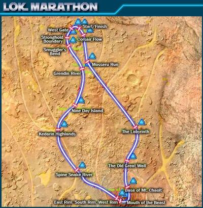Lok Marathon map