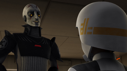 The Grand Inquisitor and Zare Leonis