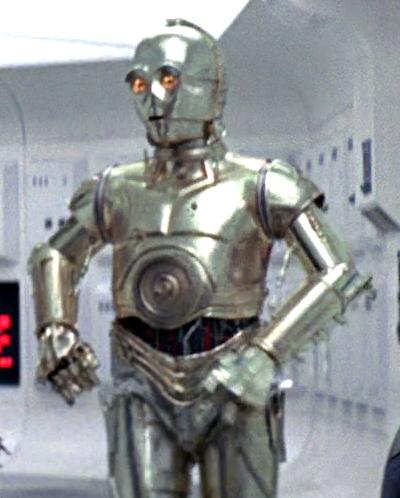 LEGO STAR WARS C-3PO SILVER GREY PROTOCOL DROID U-3PO 100/% LEGO NEW SET 75146
