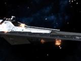 Attack on a Sith Empire fleet