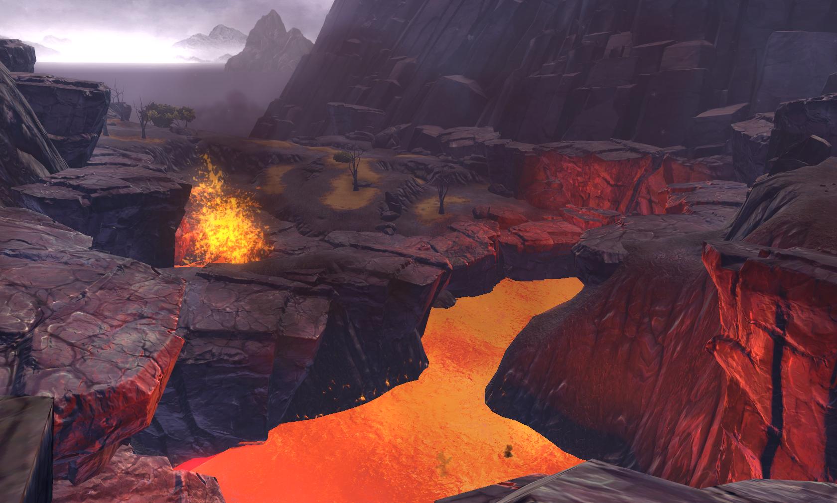 Ord mantell lava overlook