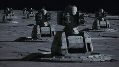 Point defense anti-aircraft cannons