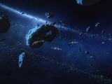 Castilon asteroid field