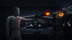 Thrawn vs Sentry droid