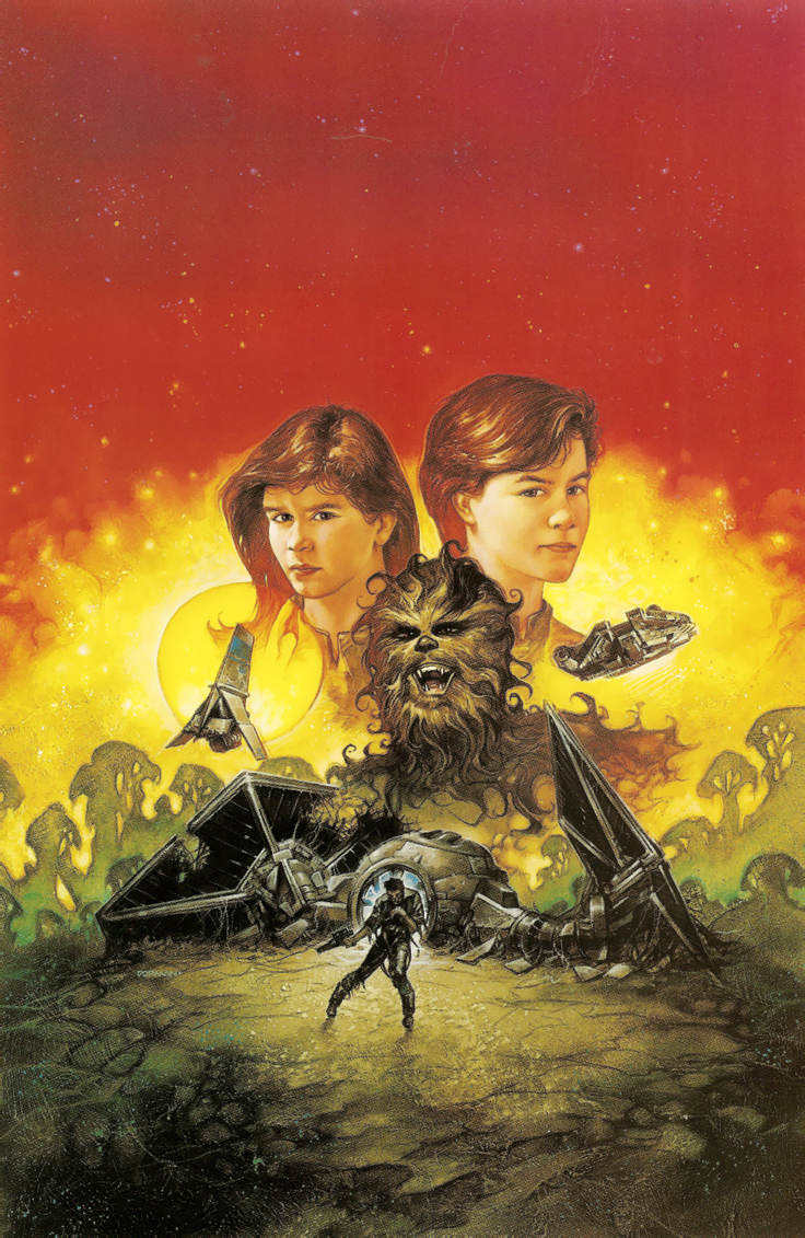Cover art for Heirs of the Force