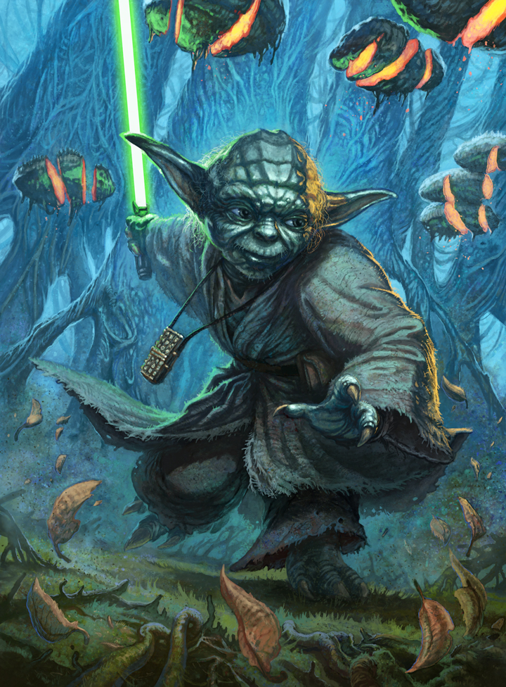 Star Wars Clone Wars Jedi Master Yoda walking stick cane accessory spare part