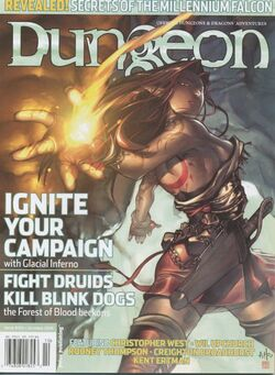 Dungeon Magazine 103 cover