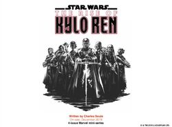 The Rise of Kylo Ren art reveal