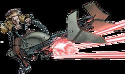 Luke 74-Z Speederbike SW2