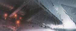 Starship Graveyard concept