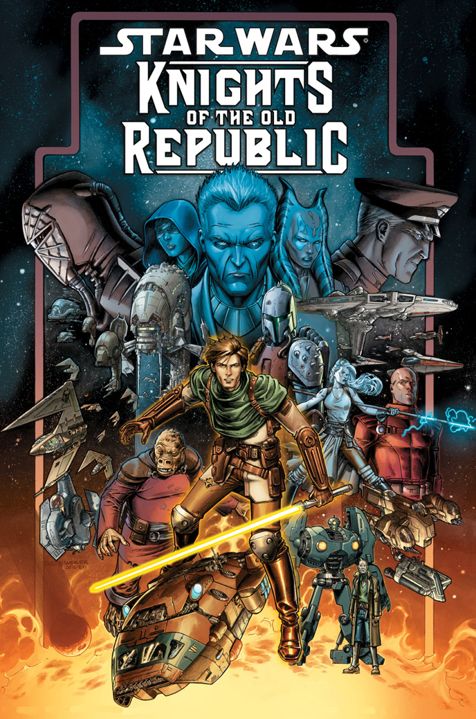 Star Wars Knights Of The Old Republic Comic Book