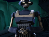Unidentified T-series tactical droid (Christophsis)/Legends