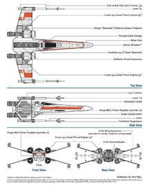 X-wing schematics