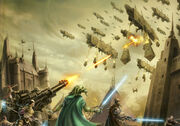 Battle of Coruscant (Great Hyperspace War)