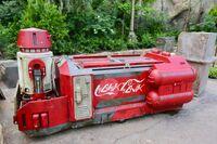 Coca-Cola cart