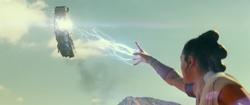 Rey's force lightning