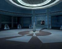 Telos council chamber
