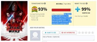 image rotten tomatoes last jedi jpg wookieepedia fandom