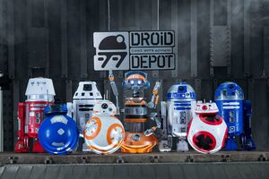 SWGE Droid Depot products