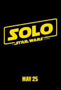Solo A Star Wars Story Teaser Poster