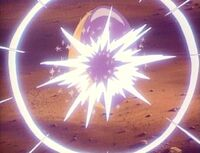 Sunstar glowing