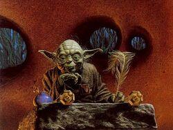 Yoda hut study