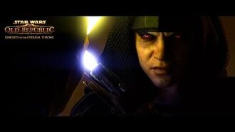 """STAR WARS The Old Republic – Knights of the Eternal Throne – """"Betrayed"""" Trailer"""