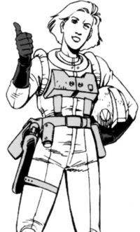 Space Rescue Corp officer