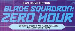 Blade Squadron Zero Hour logo